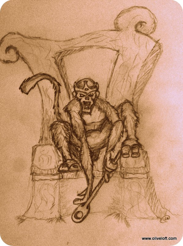 The Monkey God by Len Weatherly