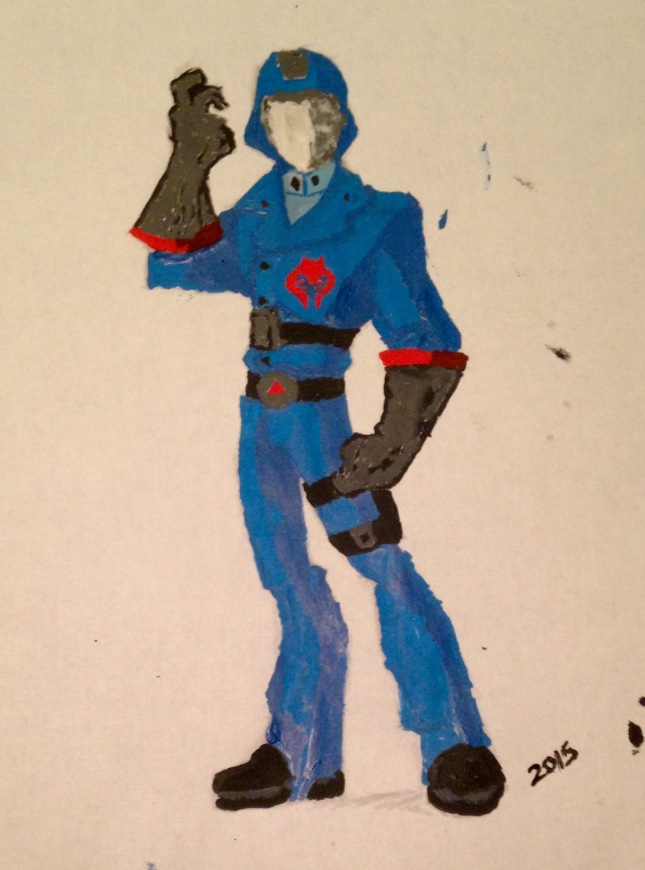 Cobra Commander Paint